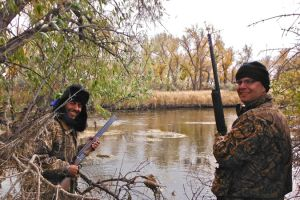 32 bighorn river duck hunting